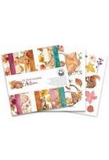 Piatek Piatek13 - Paper pad The Four Seasons - Autumn, 6x6 P13