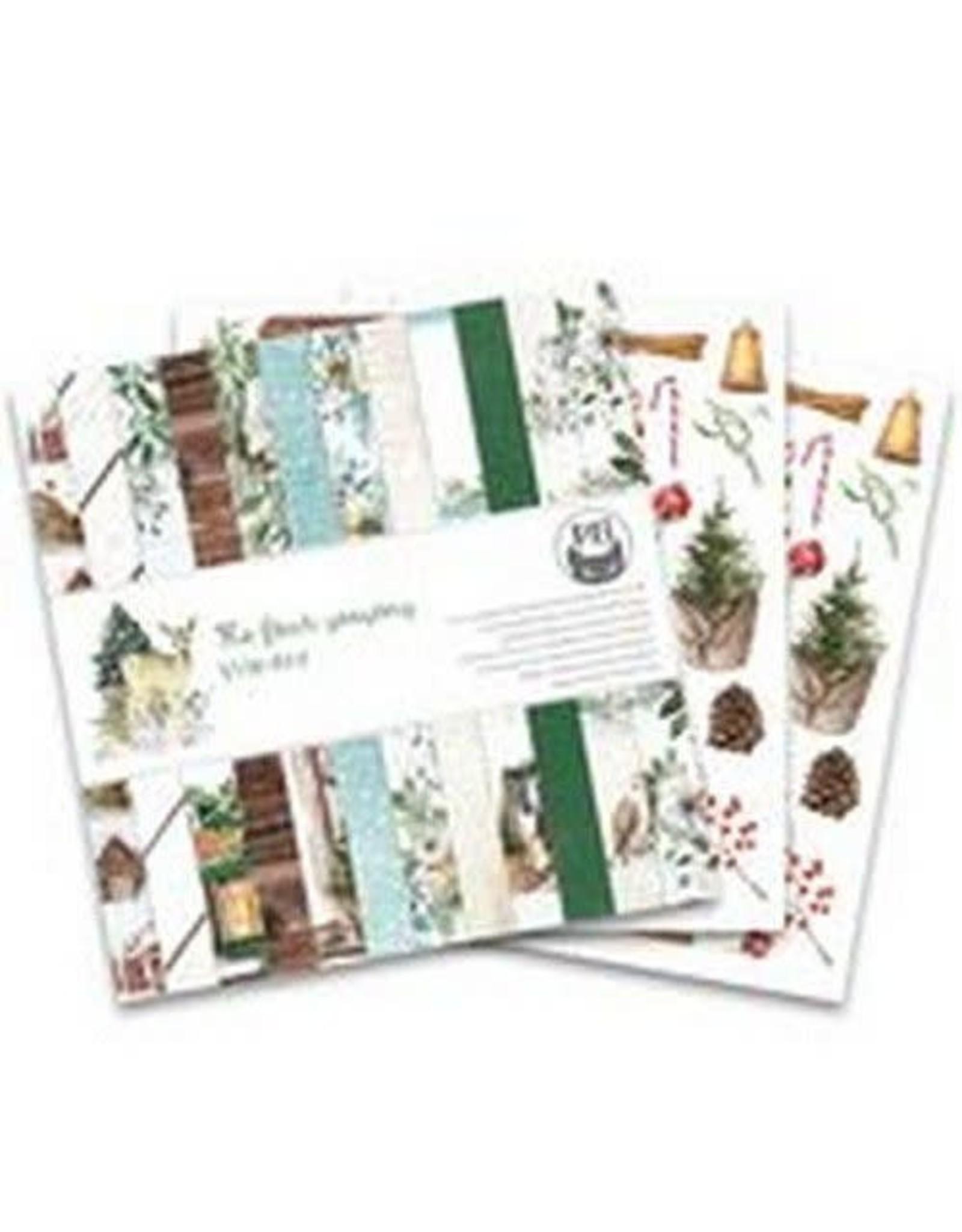 Piatek Piatek13 - Paper pad The Four Seasons - Winter, 12x12 P13