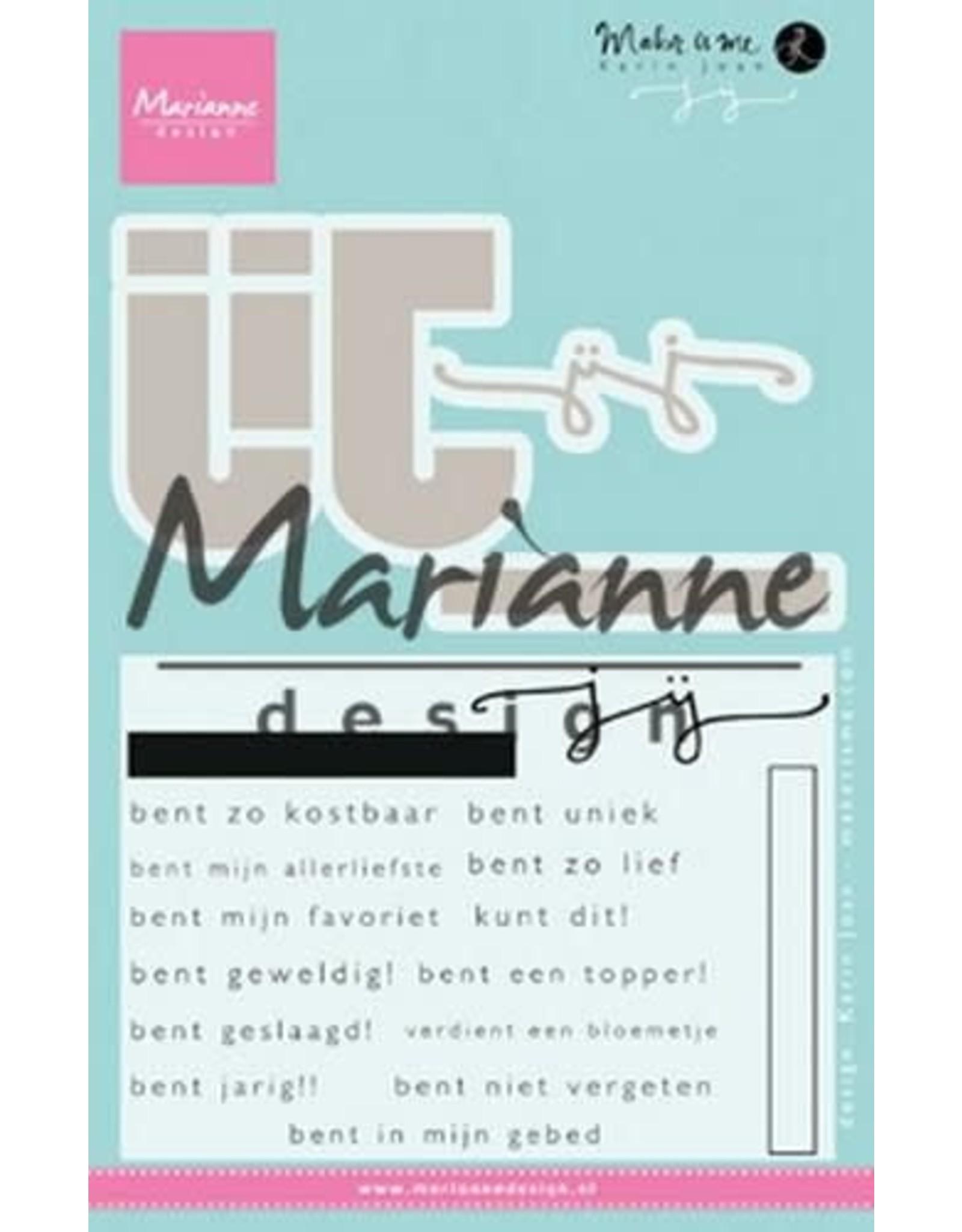 Marianne Design Marianne D Stempel Karin's JIJ (NL) KJ1726 69x57mm