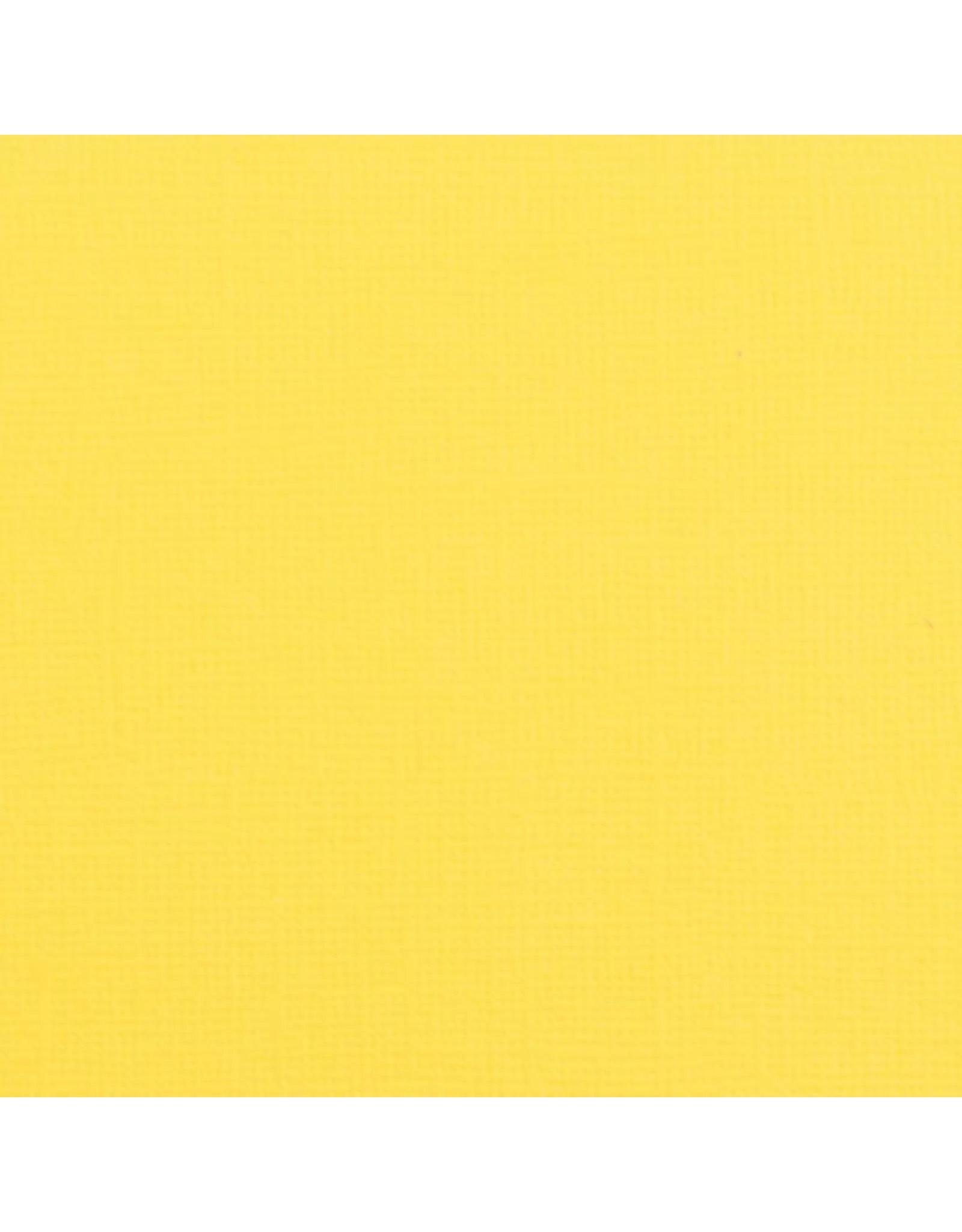 Vaessen Creative Florence • Cardstock texture 30,5x30,5cm Lemon yellow
