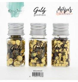 Studio Light studio Light Karin Joan Sequins Set Golden Goodness 3 st nr.03 SEQUINKJ03