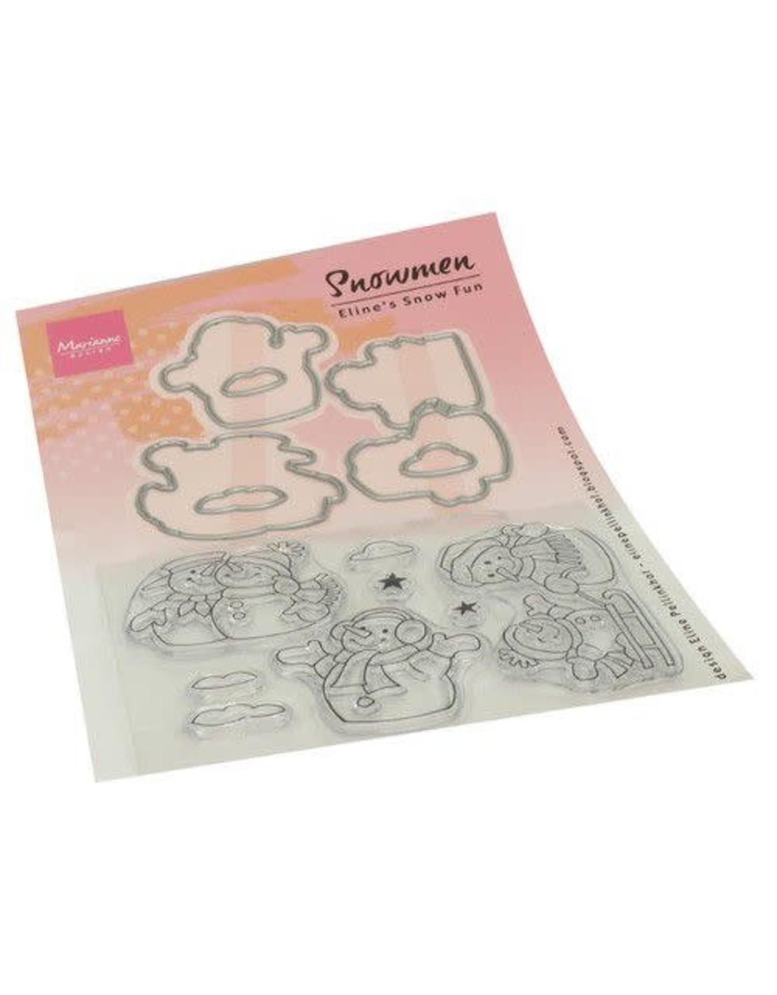 Marianne Design Marianne D Clear Stamps Eline's Sneeuwpop EC0184 150 x 210 mm