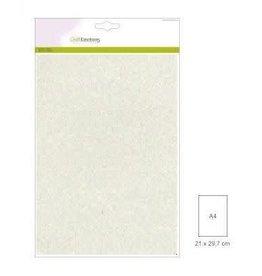 Craft Emotions CraftEmotions glitterpapier 5 vel champagne +/- 29x21cm 120gr
