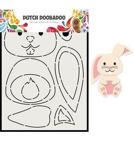 Dutch Doobadoo Dutch Doobadoo Card Art Built up Konijn 470.713.811