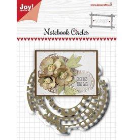 Joy Craft Joy! Crafts Snijstansmal - Noor - Scrap - Grungy cirkelmal 6002/1515 47,5x48,5 - 80x80 mm