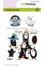 Craft Emotions CraftEmotions clearstamps A6 - Penguin 1 Carla Creaties