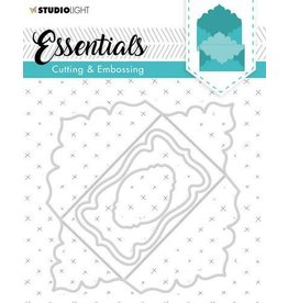 Studio Light Studio Light Embossing Die Cut Stencil Envelope Essential nr.319 STENCILSL319 128x128mm
