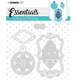 Studio Light Studio Light Embossing Die Cut Stencil Label Essential nr.321 STENCILSL321 134x131mm