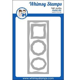 Whimsy Stamps Whimsy Stamps Slimline Card Builder Die WSD469