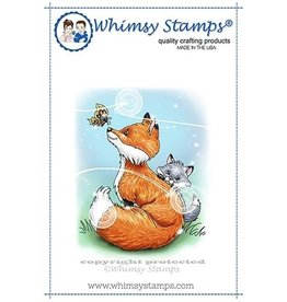 Whimsy Stamps Whimsy Stamps Fox Mom Rubber Cling Stamp