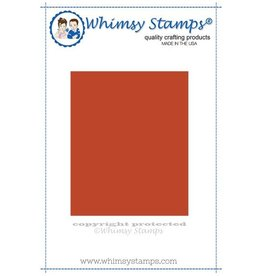 Whimsy Stamps Whimsy Stamps Mirror Image Rubber Cling Stamp WSMIR01