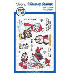 Whimsy Stamps Whimsy Stamps Frosty Hugs Clear Stamps DP1028