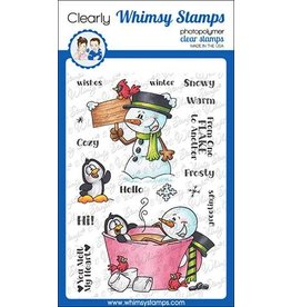 Whimsy Stamps Whimsy Stamps Frosty Wishes Clear Stamps DP1029