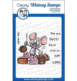 Whimsy Stamps Whimsy Stamps Candy Mouse Clear Stamps DP1037