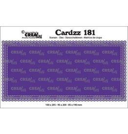 Crealies Crealies Cardzz Slimline A CLCZ181 100 x 205 mm