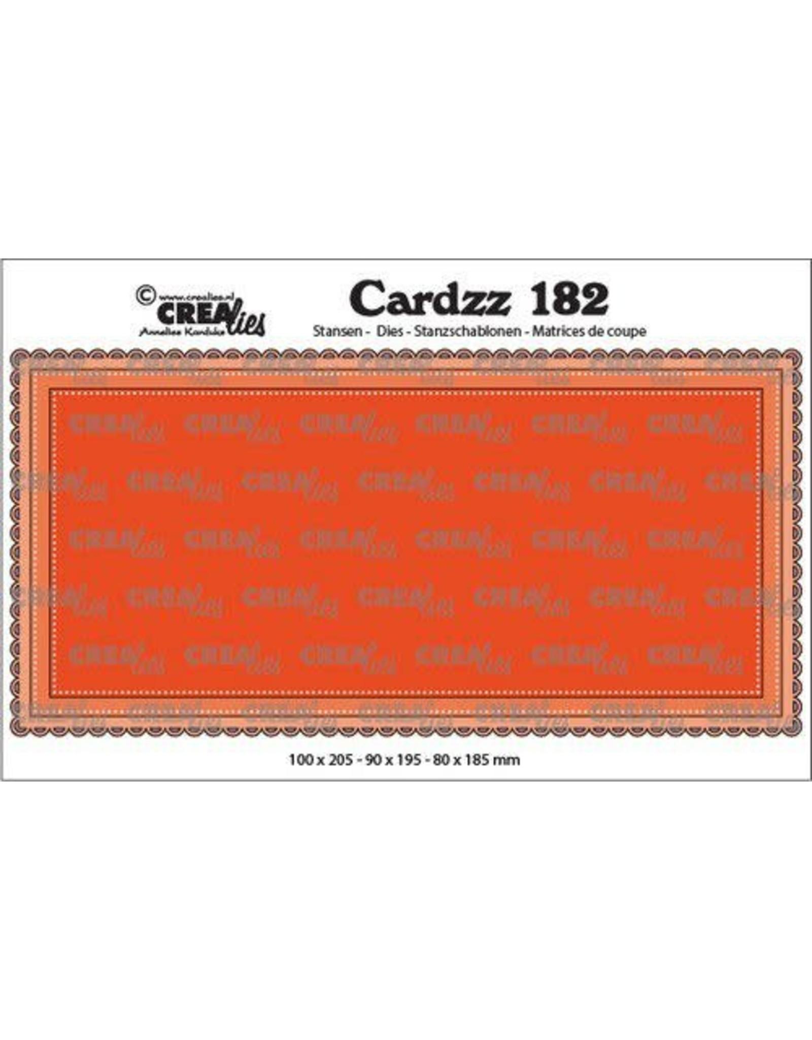Crealies Crealies Cardzz Slimline B CLCZ182 100 x 205 mm