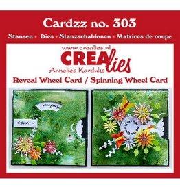 Crealies Crealies Cardzz 2x Draaikaart CLCZ303 10,5 X 10,5 cm