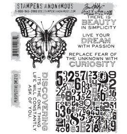 Stampers Anonymous Stampers Anonymous Tim Holtz Cling Mount Stamps - Perspective CMS213