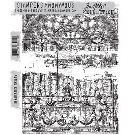 Stampers Anonymous Stampers Anonymous Tim Holtz Cling Mount Stamps -Renaissance CMS415