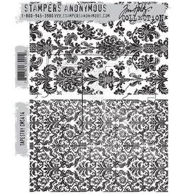 Stampers Anonymous Stampers Anonymous Tim Holtz Cling Mount Stamps -Tapestry CMS414