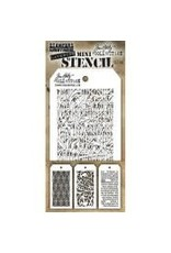 Stampers Anonymous Stampers Anonymous Tim Holtz Mini Layering Stencil Set #49 - MST049