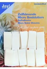 Joy Craft Joy! Crafts Zelfklevende Micro Snelsluiters 10x25mm 24st 6500/0090 10x25 mm