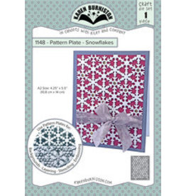 Karen Burniston Karen Burniston Patern Plate snowflakes 1148