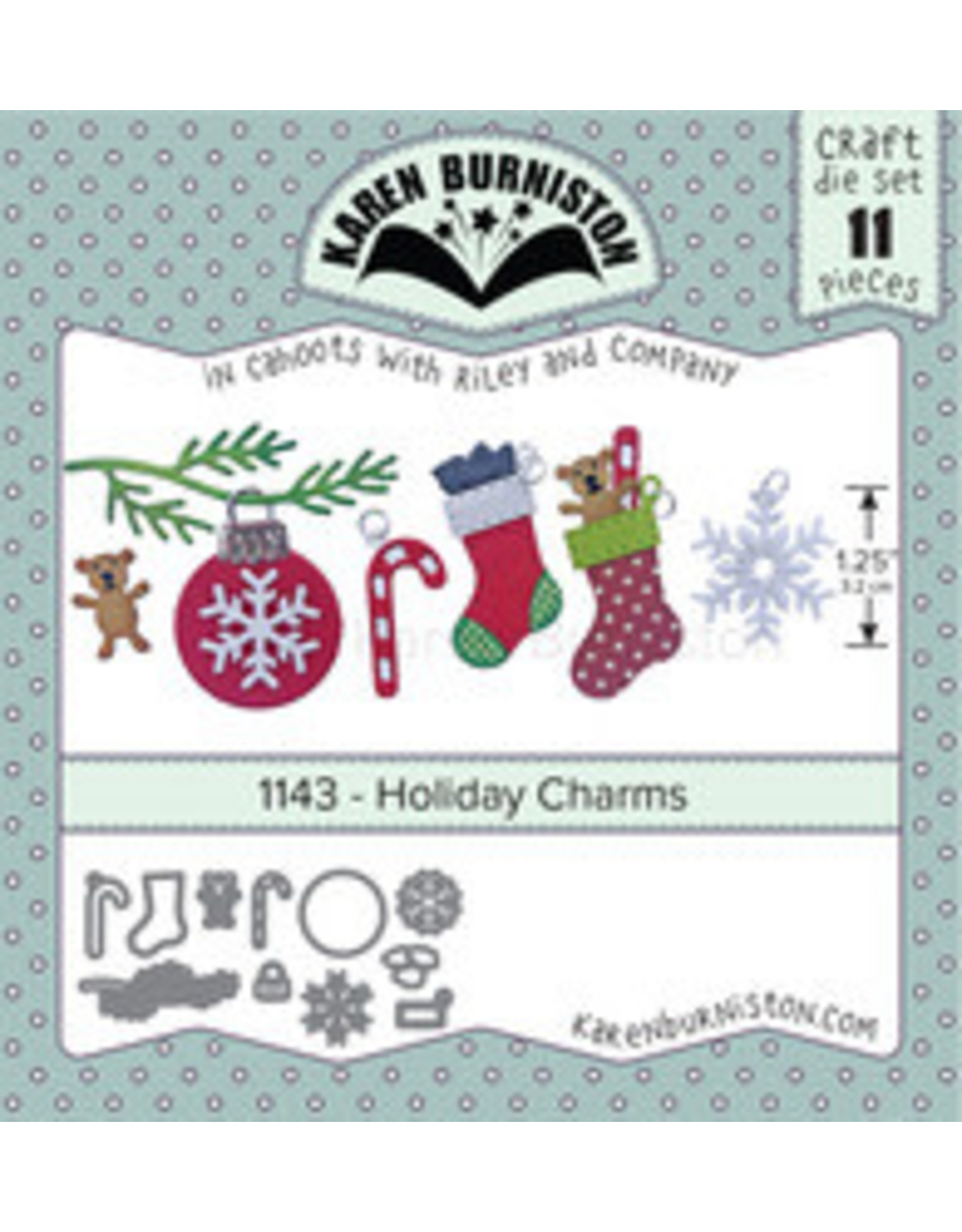 Karen Burniston Karen Burniston Holiday Charms 1143