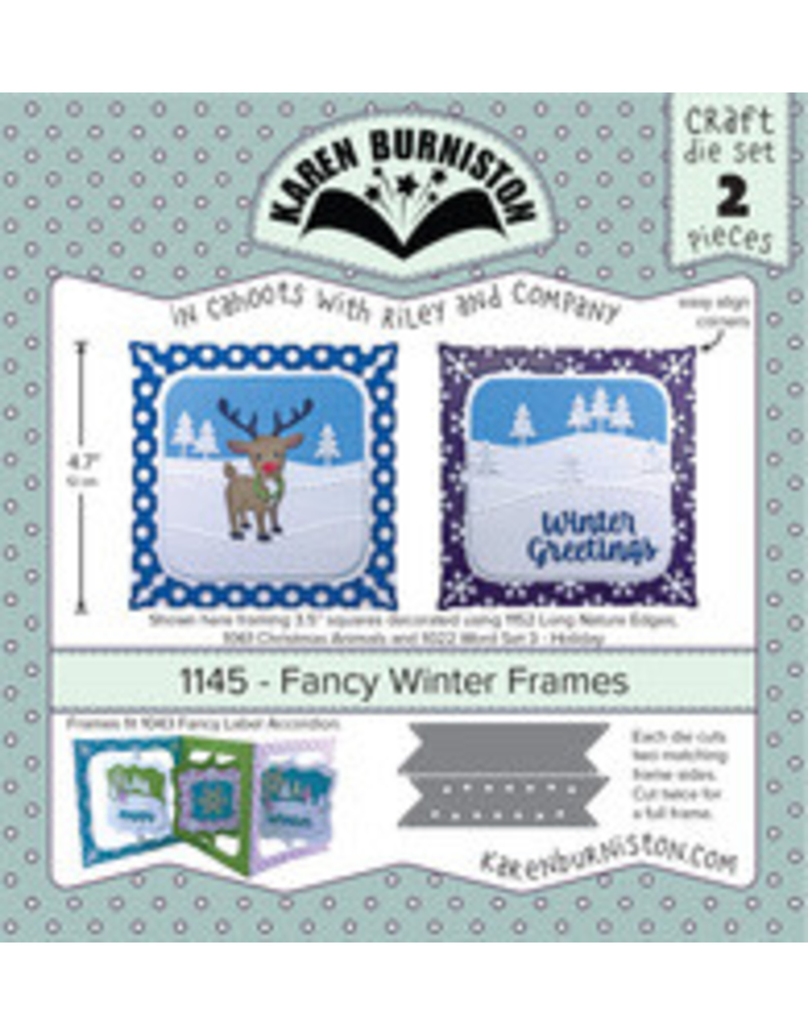 Karen Burniston Karen Burniston Fancy winter frames 1145