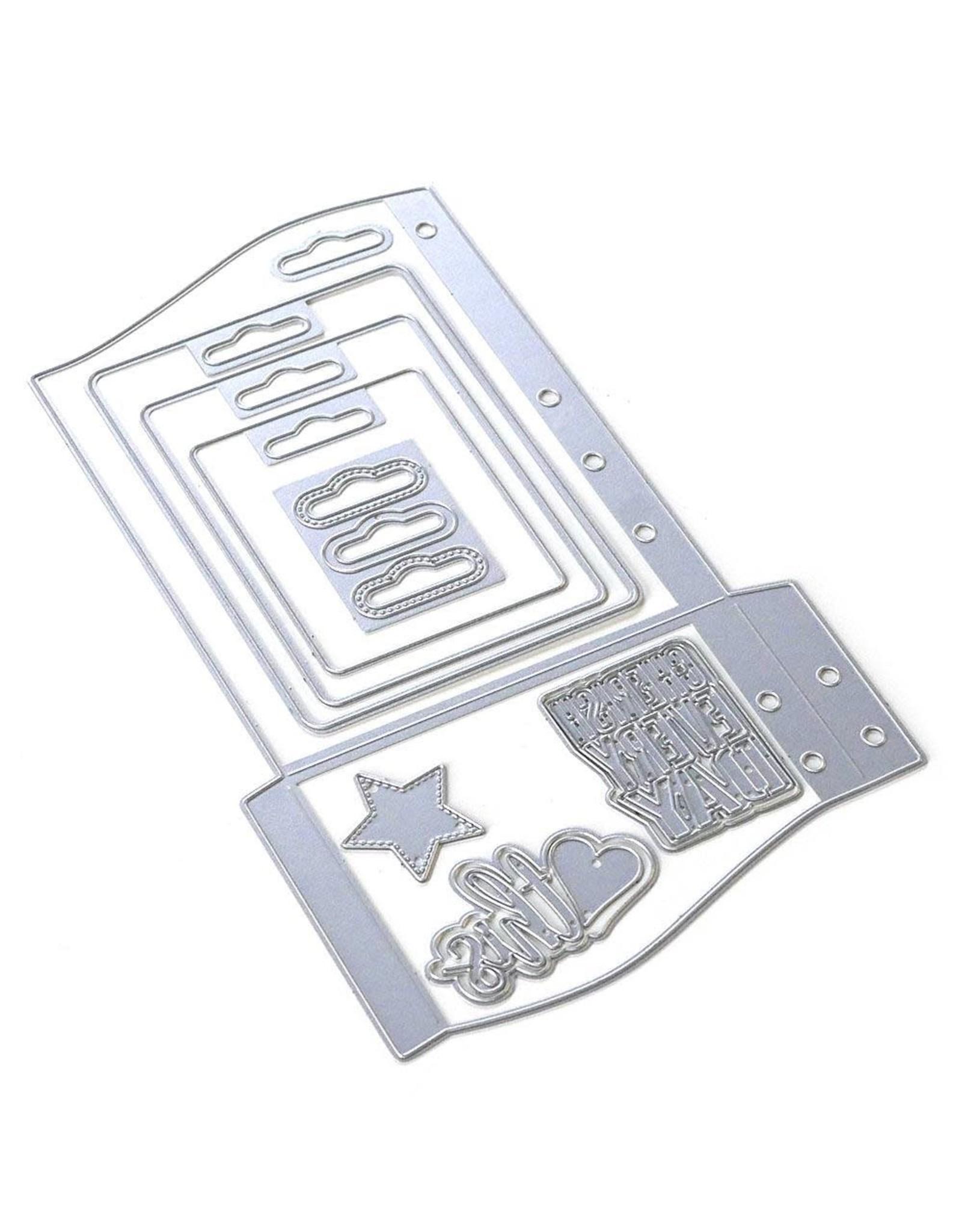 Elizabeth Craft Designs Elizabeth Craft Designs Planner Essentials 30 - Wave Pocket 1805