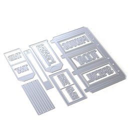 Elizabeth Craft Designs Elizabeth Craft Designs Planner Essentials 31 - Slider Pockets 1806