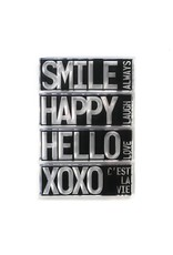 Elizabeth Craft Designs Elizabeth Craft Designs Block Words - Hello CS194