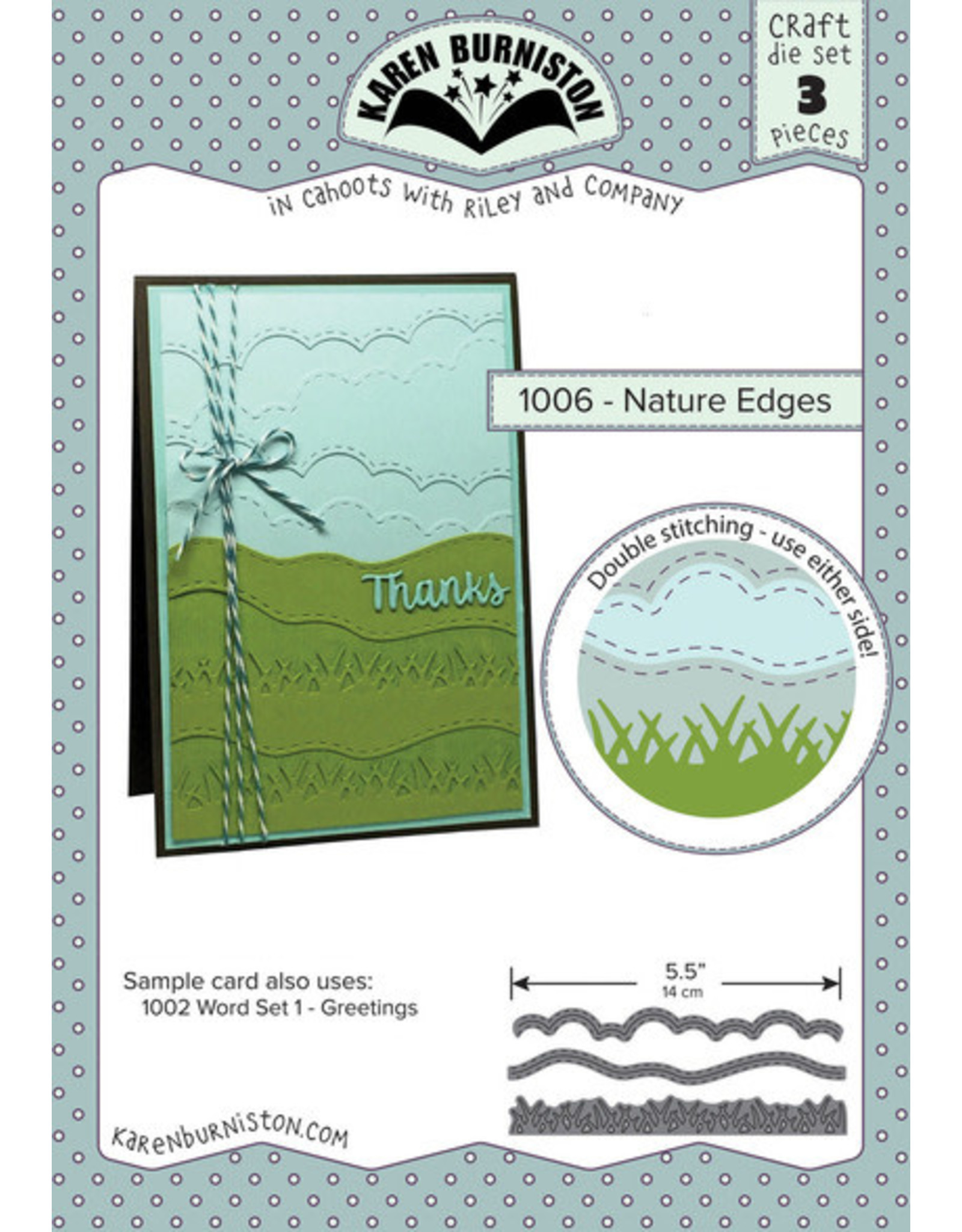 Karen Burniston Karen Burniston Nature Edges die set 1006