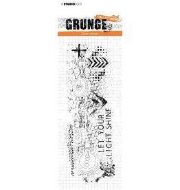Studio Light Studio Light Clear Stamp Grunge Collection nr.494 STAMPSL494 74x210mm