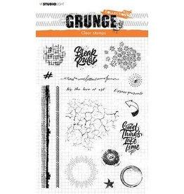 Studio Light Studio Light Clear Stamp Grunge Collection nr.502 STAMPSL502 A5