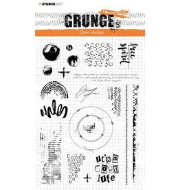 Studio Light Studio Light Clear Stamp Grunge Collection nr.503 STAMPSL503 A5