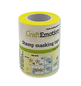 Craft Emotions CraftEmotions stempel maskeer tape 6 cm - 10 meter