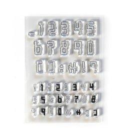 Elizabeth Craft Designs Elizabeth Craft Designs Boxy Numbers CS211