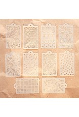 Elizabeth Craft Designs Elizabeth Craft Designs Pattern Stencil Pack S040