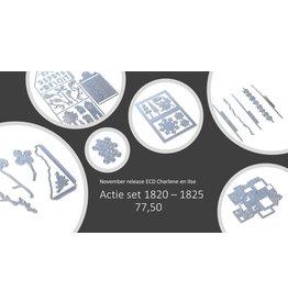 Elizabeth Craft Designs Elizabeth Craft Designs actie set 1820-1825 November release Charlene en Ilse