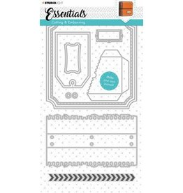 Studio Light Studio Light Embossing Die Cut Stencil Journal Essentials nr.344 STENCILSL344 160x297mm