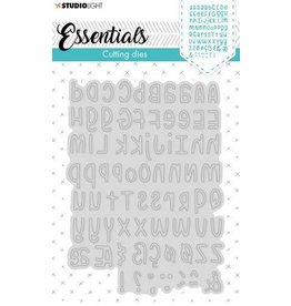 Studio Light Studio Light Embossing Die Cut Stencil Alphabet Essentials nr.355 STENCILSL355