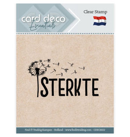 Card Deco Card Deco Essentials - Clear Stamps - Sterkte