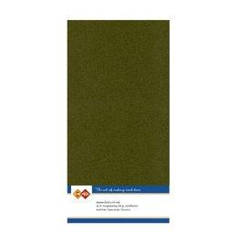 Card Deco Card Deco essentials Linnenkarton - Vierkant - pine green