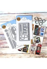 Elizabeth Craft Designs Elizabeth Craft Designs Phone Booth Special Kit K003