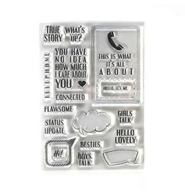 Elizabeth Craft Designs Elizabeth Craft Designs Phone Booth Special Stamps CS195