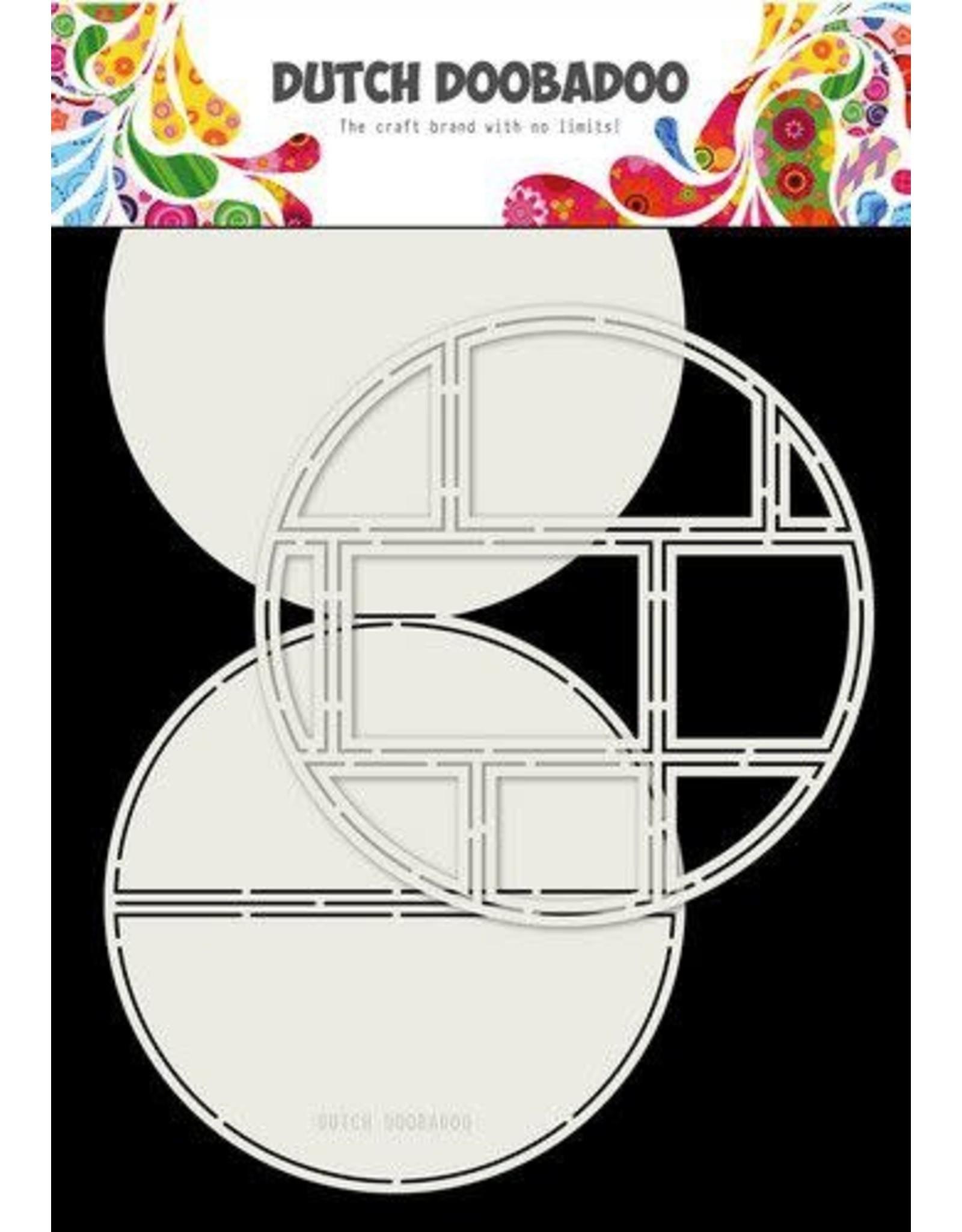 Dutch Doobadoo Dutch Doobadoo Card Art Easel card Cirkel 2st A4 470.713.833