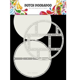 Dutch Doobadoo Dutch Doobadoo Card Art Easel card Cirkel 2st A4 470.713.833