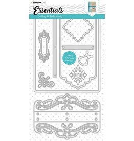 Studio Light Studio Light Embossing Die Cut Stencil Journal Essentials nr.343 STENCILSL343 160x297mm