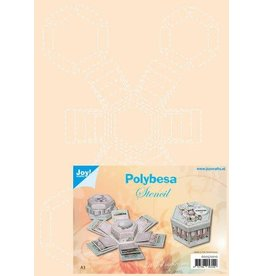 Joy Craft Joy! Crafts Polybesa stencil Explosiedoosjes 6005/0010 A4